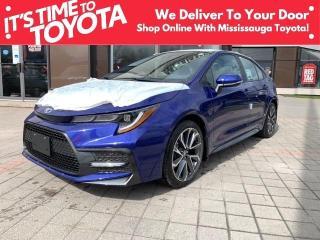 New 2021 Toyota Corolla SE CVT SE UPGRADE / BLACK ROOF OPTION for sale in Mississauga, ON