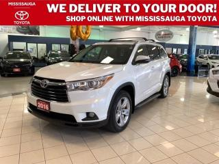 Used 2016 Toyota Highlander LIMITED AWD for sale in Mississauga, ON