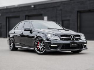 Used 2013 Mercedes-Benz C-Class C 63 AMG I NAV I BACKUP I NO ACCIDENT I LOW KM for sale in Toronto, ON
