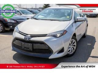 Used 2019 Toyota Corolla for sale in Whitby, ON