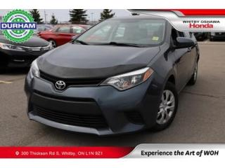 Used 2016 Toyota Corolla 4DR SDN AUTO CE for sale in Whitby, ON