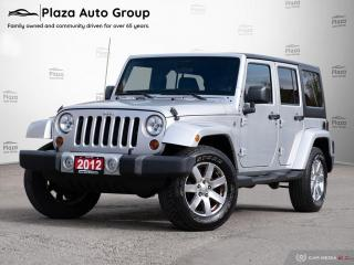 Used 2012 Jeep Wrangler Unlimited Sahara | 2 TOPS | ONE OWNER for sale in Richmond Hill, ON