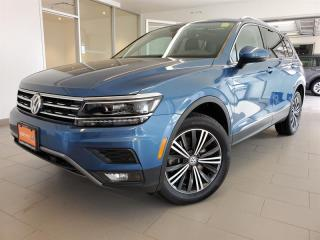 Used 2018 Volkswagen Tiguan Highline 2.0T 8sp at w/Tip 4M for sale in Orleans, ON