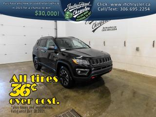 New 2021 Jeep Compass Trailhawk 4x4   Nav   Sunroof for sale in Indian Head, SK