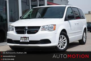 Used 2016 Dodge Grand Caravan SE/SXT DVD BACK UP CAM NO ACCIDENTS for sale in Chatham, ON