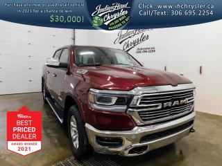 New 2021 RAM 1500 Laramie 4x4   HEMI   Leather for sale in Indian Head, SK