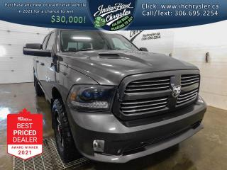 Used 2015 RAM 1500 Sport 4x4   NEW ENGINE   RamBox   Leather for sale in Indian Head, SK