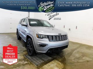 New 2021 Jeep Grand Cherokee Altitude 4x4   Sunroof   Leather for sale in Indian Head, SK
