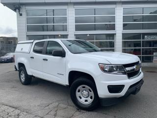 Used 2018 Chevrolet Colorado Crew Cab with Canopy for sale in Surrey, BC