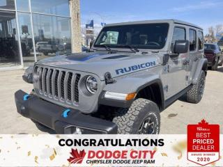 New 2021 Jeep Wrangler 4xe Unlimited Rubicon-Hybrid,4WD,Nav,Remote Start for sale in Saskatoon, SK