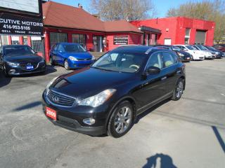 Used 2009 Infiniti EX35 AWD/ LEATHER /ROOF / REAR CAM / PUSH START / A/C / for sale in Scarborough, ON