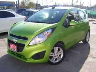 Used 2015 Chevrolet Spark LT,BLUETOOTH,A/C,AUX PORT, TOUCH SCREEN,CERTIFIED, for sale in Kitchener, ON