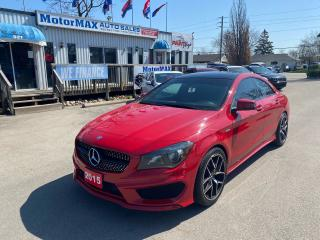 Used 2015 Mercedes-Benz CLA-Class CLA 250- SOLD SOLD for sale in Stoney Creek, ON