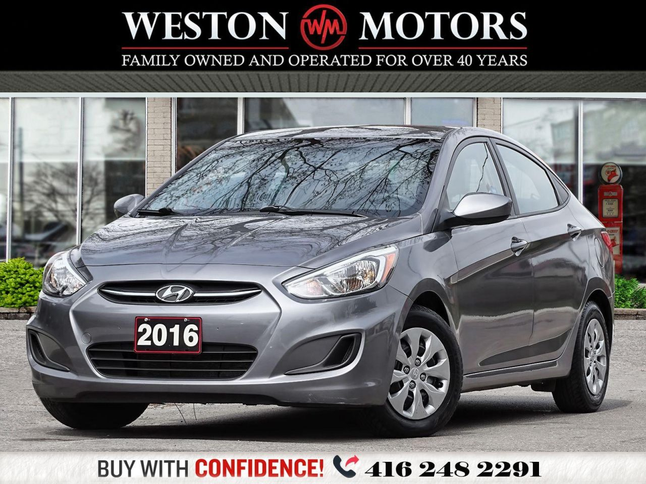 2016 Hyundai Accent GL 1.6L*LOW KMS!*GREAT SHAPE