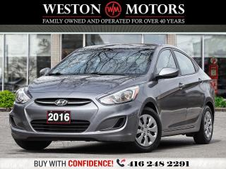 Used 2016 Hyundai Accent GL 1.6L*LOW KMS!*GREAT SHAPE for sale in Toronto, ON