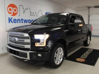 Used 2016 Ford F-150 Platinum | 4x4 | FX4 | Tech Pkg | Max Trailer Tow | Moonroof for sale in Edmonton, AB