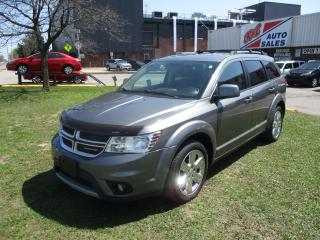 Used 2012 Dodge Journey CREW ~ DVD ~ 7 PASSENGER ~ NAVIGATION ~ REAR CAM for sale in Toronto, ON