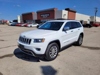 Used 2014 Jeep Grand Cherokee Limited for sale in Steinbach, MB