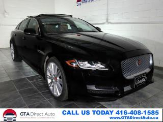 Used 2017 Jaguar XJ XJL Portfolio AWD Nav Pano LWB Meridian Certified for sale in Toronto, ON