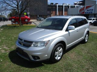 Used 2011 Dodge Journey SXT ~ 7 PASSENGER ~ SUNROOF ~ SAFETY INCLUDED for sale in Toronto, ON