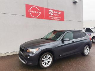 Used 2013 BMW X1 28i / AWD / Leather for sale in Edmonton, AB
