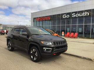 Used 2018 Jeep Compass TRAILHAWK, 4X4, LEATHER for sale in Edmonton, AB