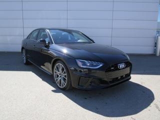New 2021 Audi A4 45 Technik S Line Black, NAV, B&O Sound for sale in Regina, SK