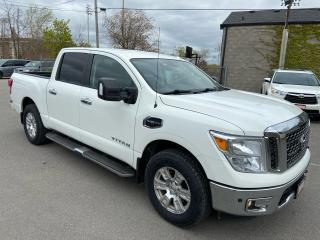 Used 2017 Nissan Titan SV ** 4X4, NAV, BACK CAM, TOW PKG ** for sale in St Catharines, ON