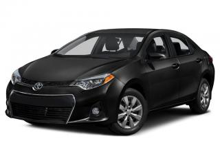 Used 2015 Toyota Corolla S for sale in Ancaster, ON