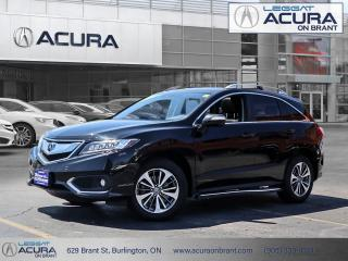 Used 2017 Acura RDX Elite Acura Certified, Clean Car Fax! for sale in Burlington, ON