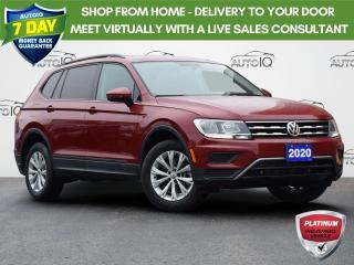 Used 2020 Volkswagen Tiguan Trendline TRENDLINE | 4MOTION| APP-CONNECT | HEATED SEATS | LOW KMS for sale in Waterloo, ON