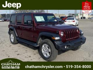 New 2021 Jeep Wrangler UNLIMITED SPORT for sale in Chatham, ON