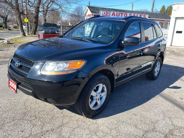2009 Hyundai Santa Fe Automatic/Accident Free/Hd Seats/Comes Certified