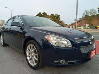 Used 2009 Chevrolet Malibu LTZ-EXTRA CLEAN-177K-LEATHER-SUNROOF-AUX-ALLOYS for sale in Scarborough, ON