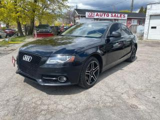 Used 2009 Audi A4 Quattro/Automatic/Leather/Roof/AS IS Special for sale in Scarborough, ON