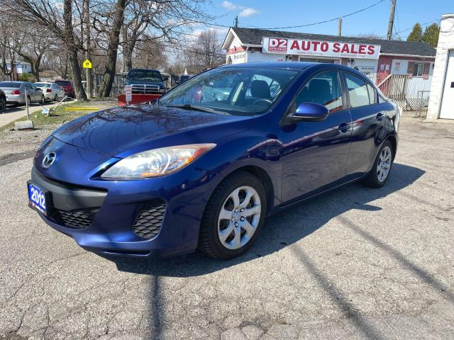 2012 Mazda MAZDA3 Automatic/4 Cylinder/2 Set of Tires/Comes Certifed