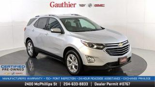 Used 2020 Chevrolet Equinox Premier AWD, 1.5L Turbo, Remote Start, Heated Seats, Power Liftgate, Alloy Wheels, Rear Camera for sale in Winnipeg, MB