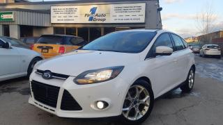 Used 2013 Ford Focus Titanium Navi/Backup Cam/P-Moon for sale in Etobicoke, ON