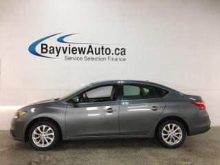 Used 2019 Nissan Sentra 1.8 SV - AUTO! SUNROOF! REVERSE CAM! ALLOYS! + MORE! for sale in Belleville, ON
