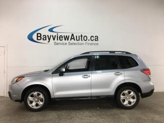 Used 2017 Subaru Forester 2.5i - AWD! REVERSE CAM! ALLOYS! + MORE! for sale in Belleville, ON