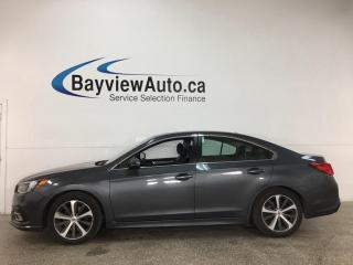 Used 2018 Subaru Legacy 3.6R Limited w/EyeSight Package - 6CYL! AWD! HTD LEATHER! NAV! SUNROOF! for sale in Belleville, ON
