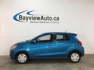 Used 2018 Mitsubishi Mirage ES - 6SPD! A/C! PWR GROUP! for sale in Belleville, ON