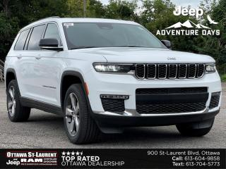 New 2021 Jeep Grand Cherokee L Limited LIMITED 4X4 | EXTRAORDINARY CAPABILITY | All-NEW EXTERIOR DESIGN | UPGRADED INTERIOR W/ 3 ROWS for sale in Ottawa, ON