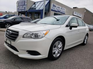 Used 2016 Subaru Legacy 2.5i AWD|BACK UP CAMERA|HEATED SEATS|CERTIFIED for sale in Concord, ON