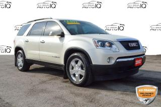 Used 2007 GMC Acadia SLT2 AS IS for sale in Grimsby, ON