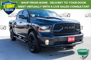 Used 2018 RAM 1500 Sport LOW MILEAGE CREW CAB for sale in Innisfil, ON