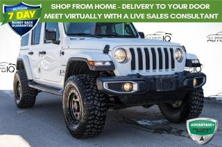 Used 2018 Jeep Wrangler Unlimited Sahara LIFTED | UPGRADED TIRES AND RIMS for sale in Innisfil, ON