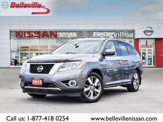 Used 2015 Nissan Pathfinder Platinum LOADED ,LEATHER,SUNROOF,COOLED SEATS for sale in Belleville, ON