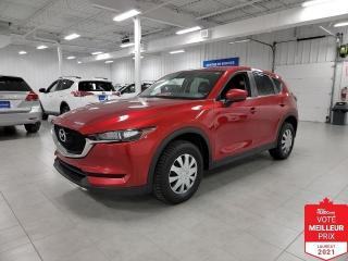 Used 2017 Mazda CX-5 GSL AWD - CAMERA + TOIT + CUIR + JAMAIS ACCIDENTE for sale in Saint-Eustache, QC