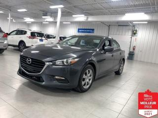 Used 2017 Mazda MAZDA3 GX - AC + CAMERA + FINANCEMENT FACILE !!! for sale in Saint-Eustache, QC